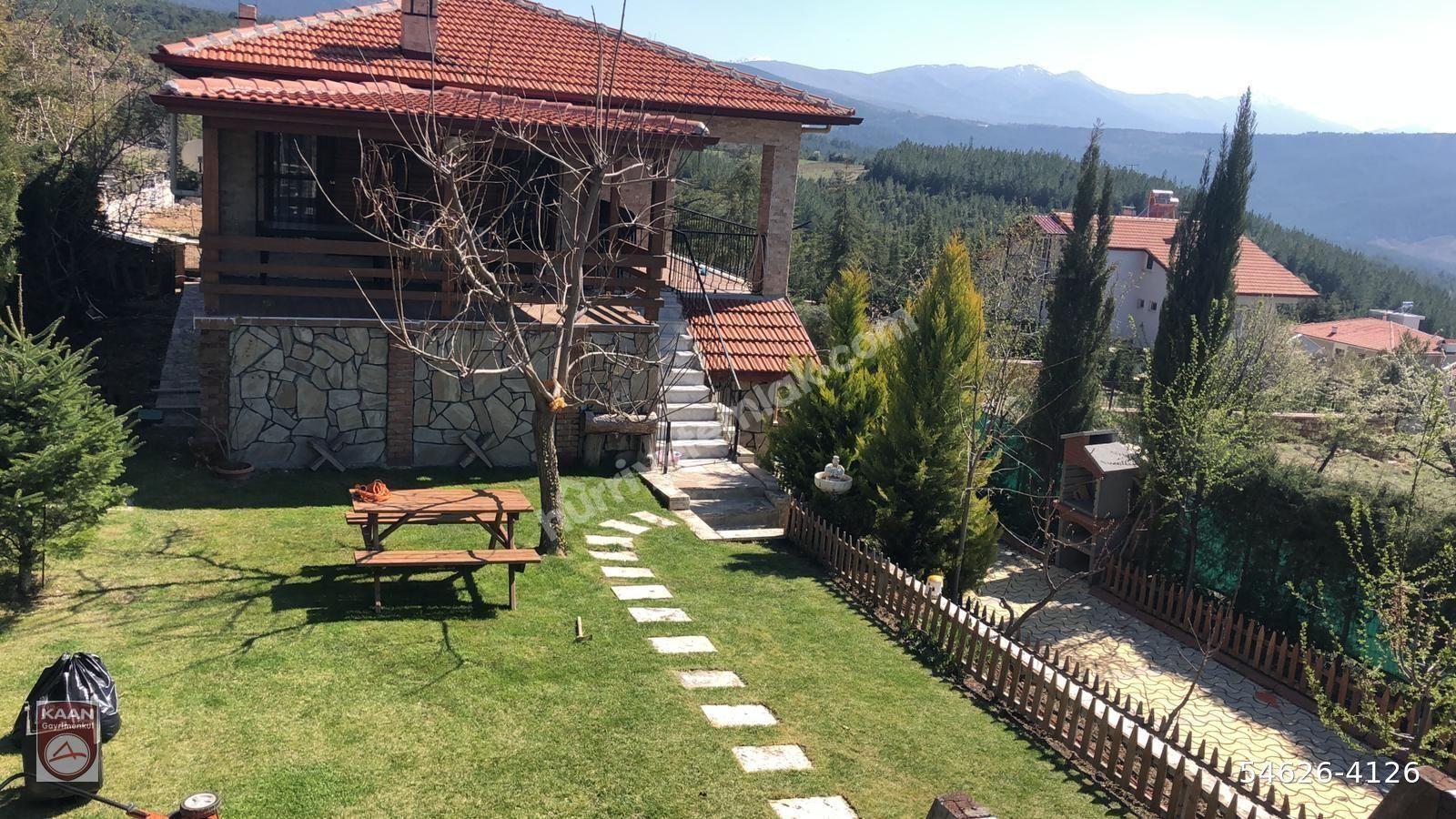 cankurtaran da doğa ile başbaşa müthiş manzaralı villa