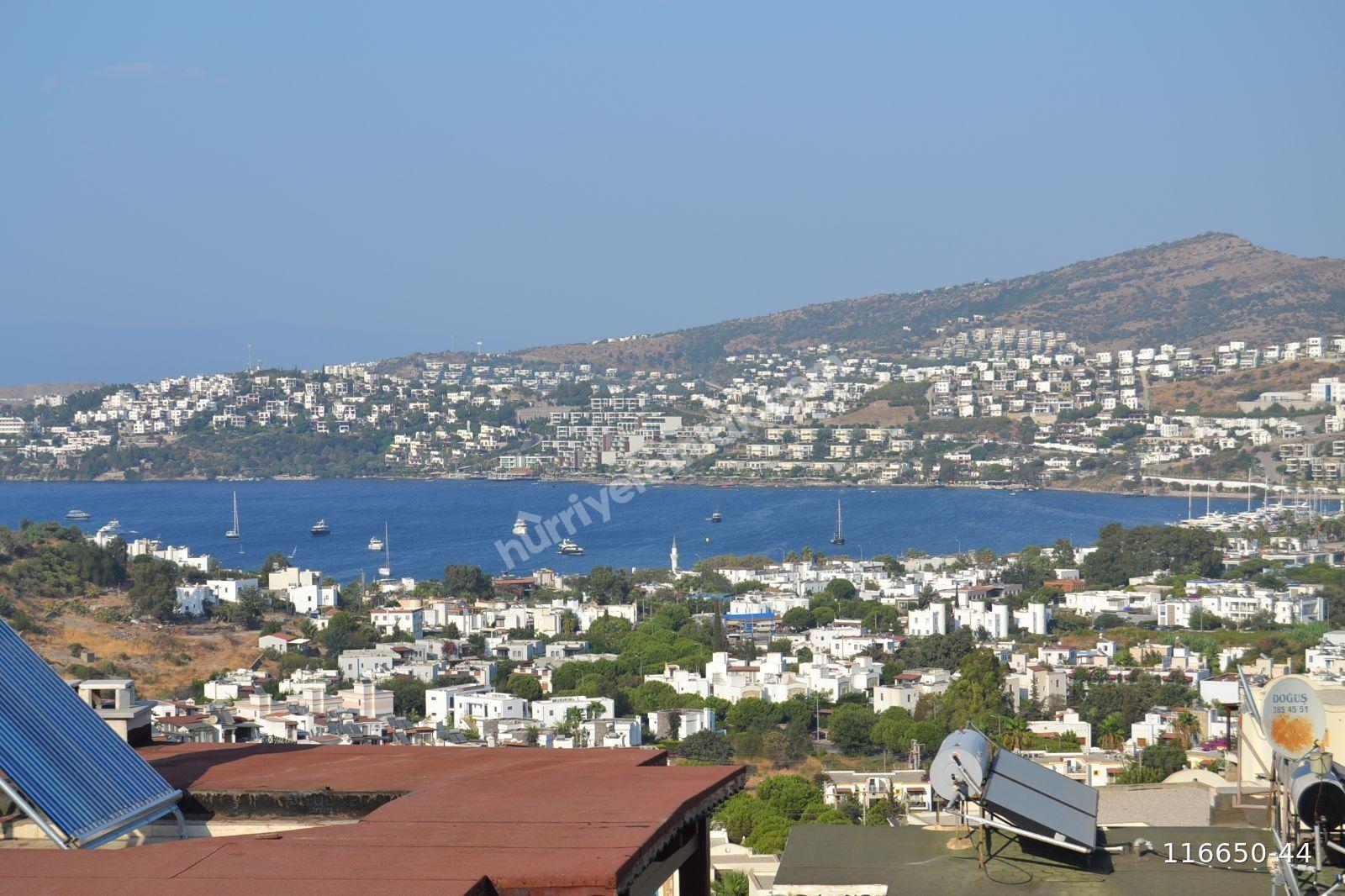 Bodrum Gündoğan da Deniz Manzaralı 4+2 Müstakil Ev