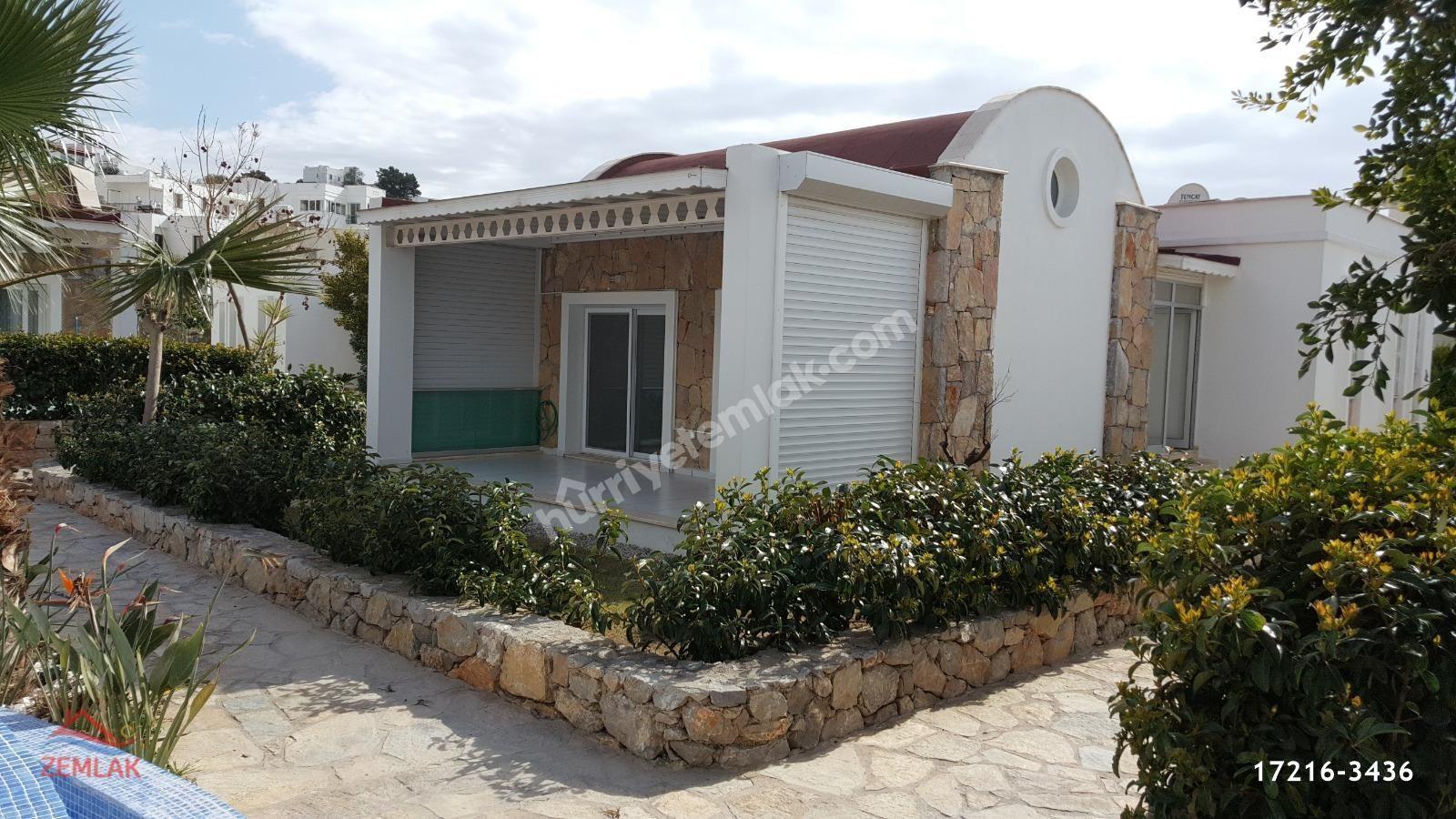 Bodrum Konacık'ta 3+1 Havuzlu Sitede Satılık Müstakil Ev