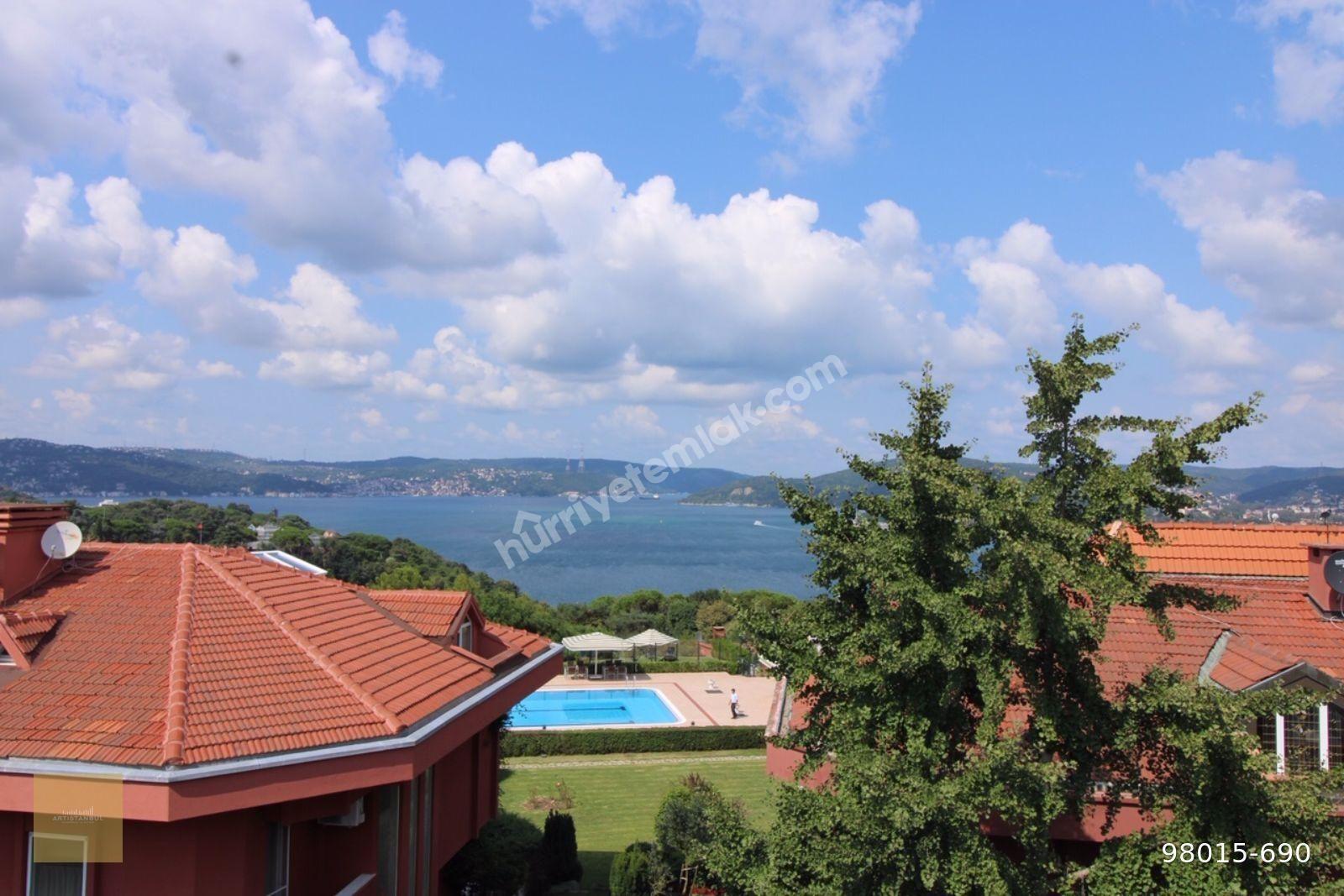 Yeniköy Poyraz Villaların da Satılık Manzaralı 7+2 İçi Sıfır